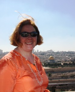overlooking Jerusalem from Mount of Olives