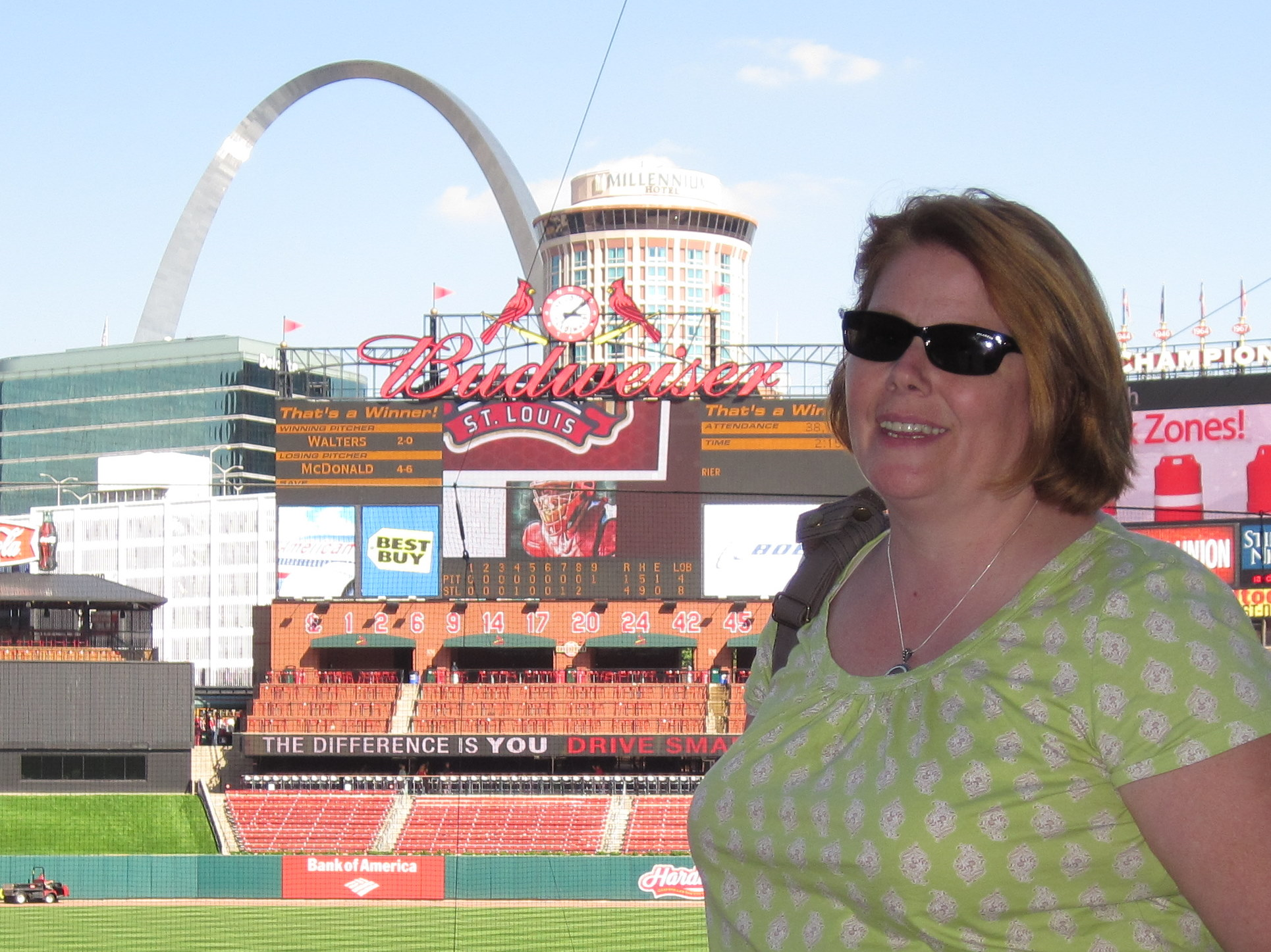 JPlovesCOTTON at Busch Stadium