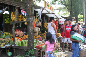 fruit market in the Philippines