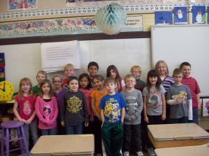 Flat Stanley visits North Dakota