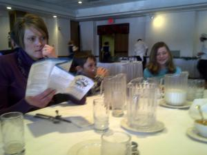pitchers of milk on the table