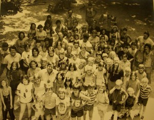 summer camp in the mid 70s at Bethany Hills