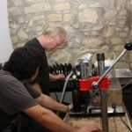 working in a microbrew