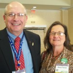 Curt @CaptainCorn & Nancy Friessen @NebrNancy