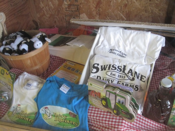 the Dairy Discovery center at SwissLane Farms