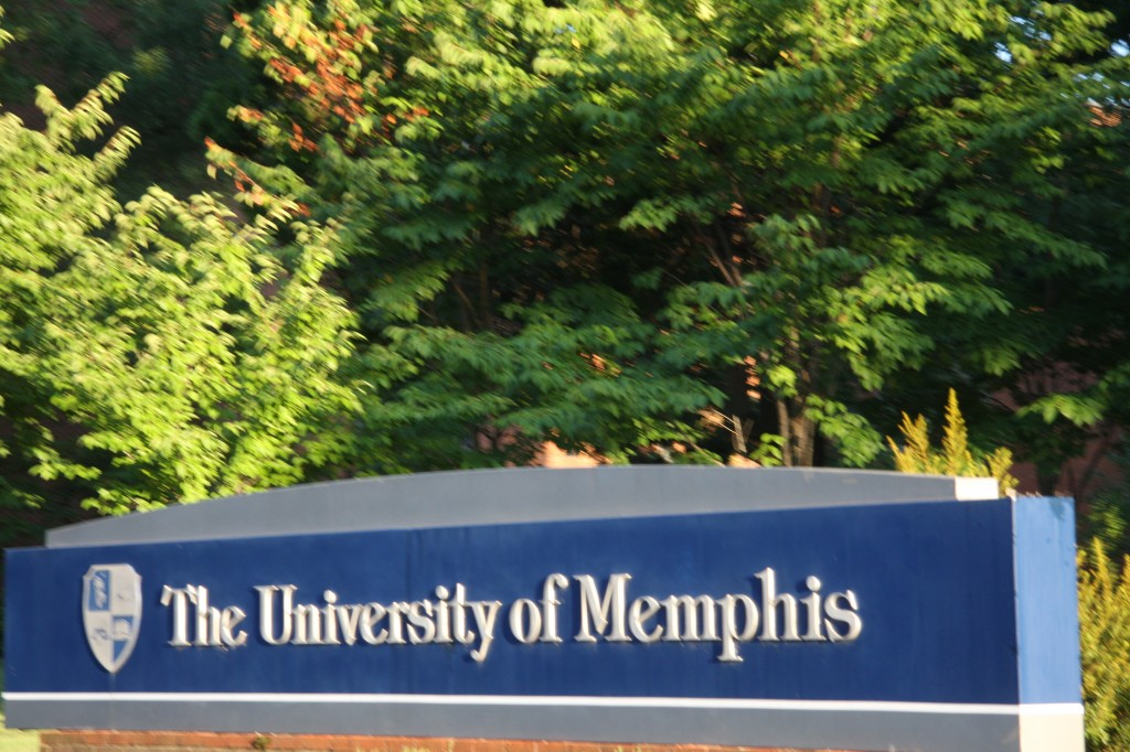 University of Memphis campus