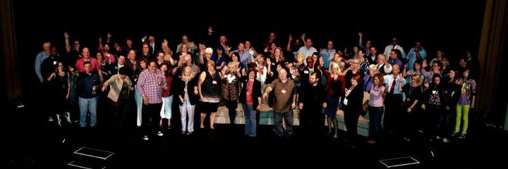 crowd at small town photo by the awesosme Jerry Hirsch aka Uncle Jerry