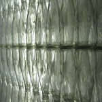 walls made of soda bottles