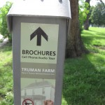 brochures to give self-guided tour