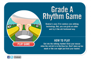 Domino's Pizza - Grade A Rhythm Game