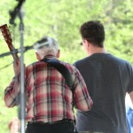 Doc Watson leaves the stage