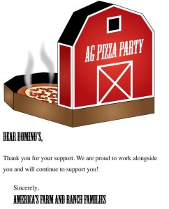 ag pizza party note