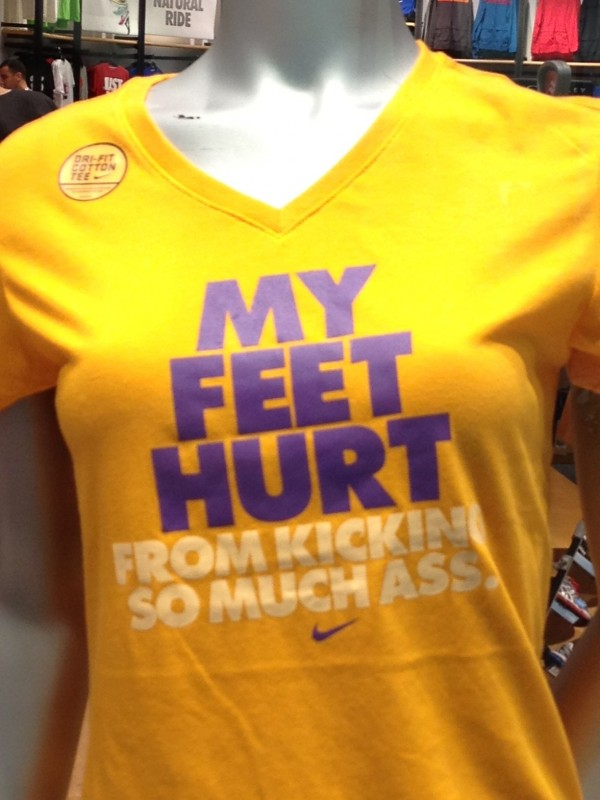 I NEED this tshirt - My feet hurt from kicking so much ass