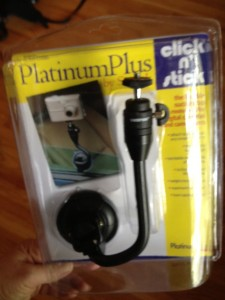 Click & Stick suction cup monopod