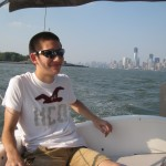 chillaxin on the boat
