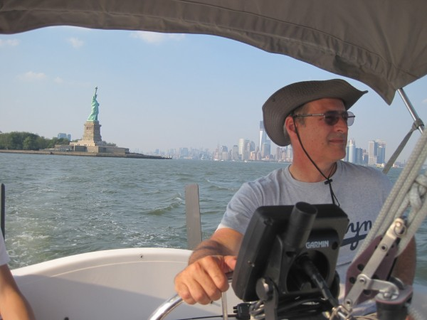 Gary, captain of our boat ride