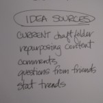 12 idea sources