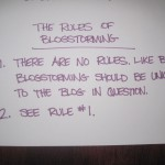 the rules of blogstorming