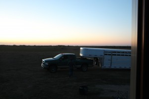 Sunrise on the Hadricks' Ranch