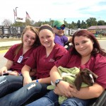 students from Southeast Polk FFA at the Iowa State Fair