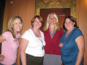 some of the great folks I got to visit with at SmallTown2011