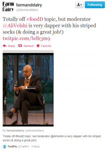 CNN's Ali Velshi dapper socks