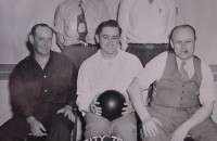Granddaddy with his bowling team