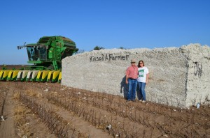Kissed a Farmer -- cotton farmers in San Angelo, Texas
