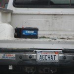 AgChat license plate
