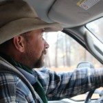 Jeff Fowle touring me around his ranch