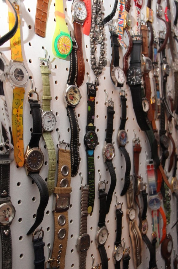 Watch collection - the irony of time