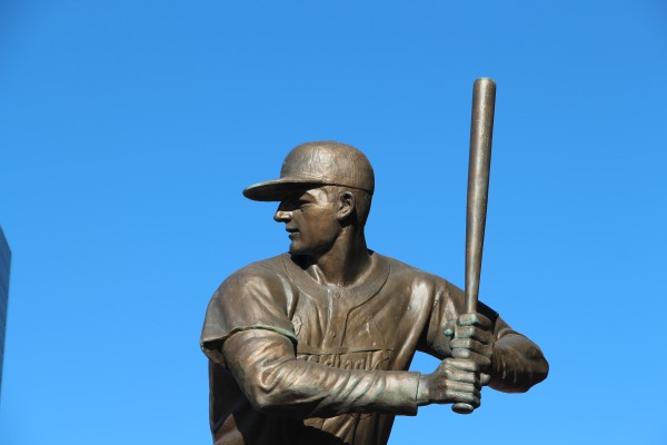 Stan Musial Statue at Busch Stadium
