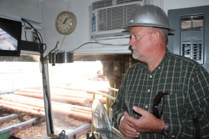 saw mill tour guide