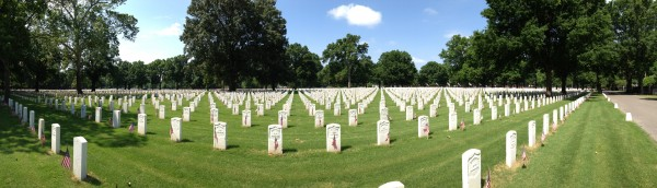 National Cemetary panorama