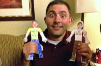 Ryan Goodman & his paperdoll versions ie Flat Ryans
