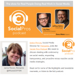 Janice Person on Social Pros Podcast with Jay Baer