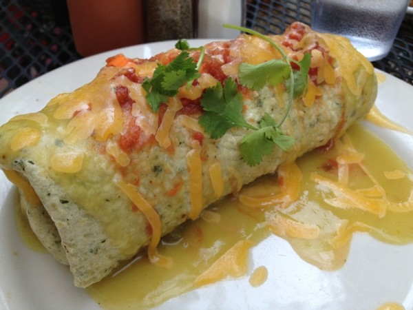 the world's best breakfast burrito