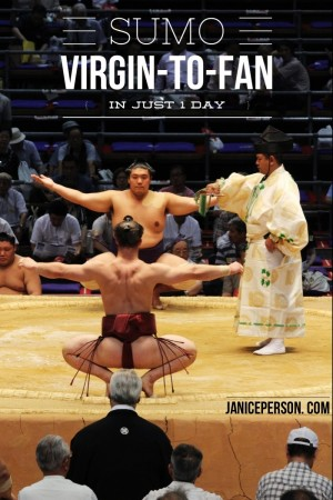 sumo virgin-to-fan in just 1 day