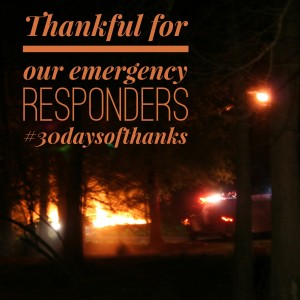 thankful for our emergency responders