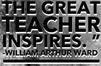 the great teacher inspires - Copy