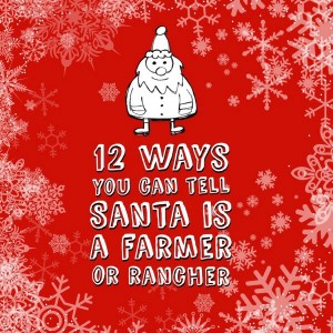 12 ways Santa is like a farmer