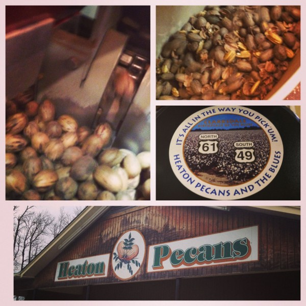 Heaton Pecans collage