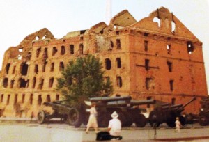 only building to survive WWII in volgograd