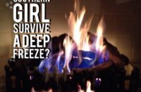 How can a Southern girl survive a deep freeze?