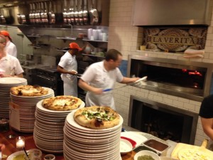 woodfire oven at Pastaria