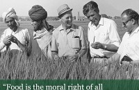 Borlaug100_food is a moral right