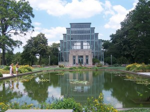 St. Louis Jewel Box in Forest Park