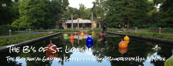 St. Louis A to Z -- B is for Botanical Garden, Butterfly House, etc.
