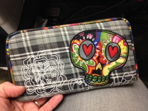 My cool skull wallet