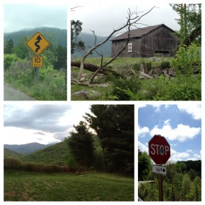 Driving through the Smokey Mountains